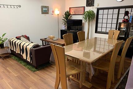 ゲストハウス-オープンスペース